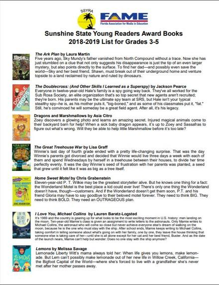 2018-2019 Sunshine State Young Readers Award Books Pg.1.jpg